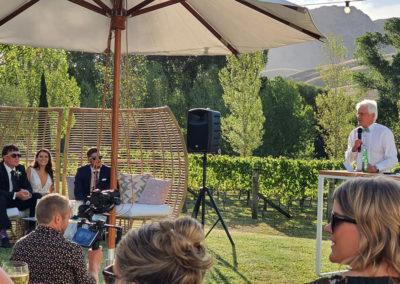 River House Rainbow wedding speaches